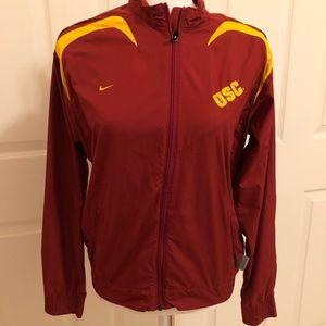 Nike USC track jacket